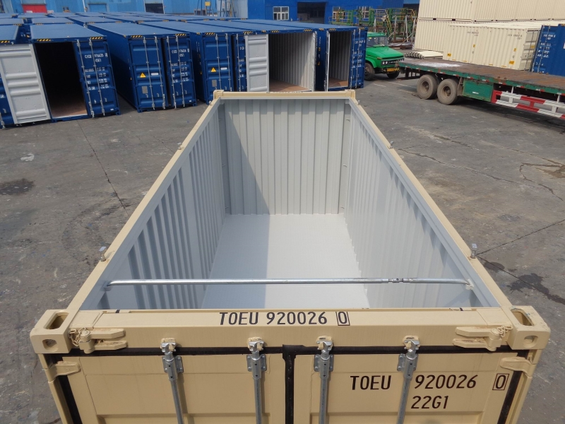 Размеры контейнеров OPEN TOP: объем, габариты, вес, длина и ширины в метрах и другие характеристики